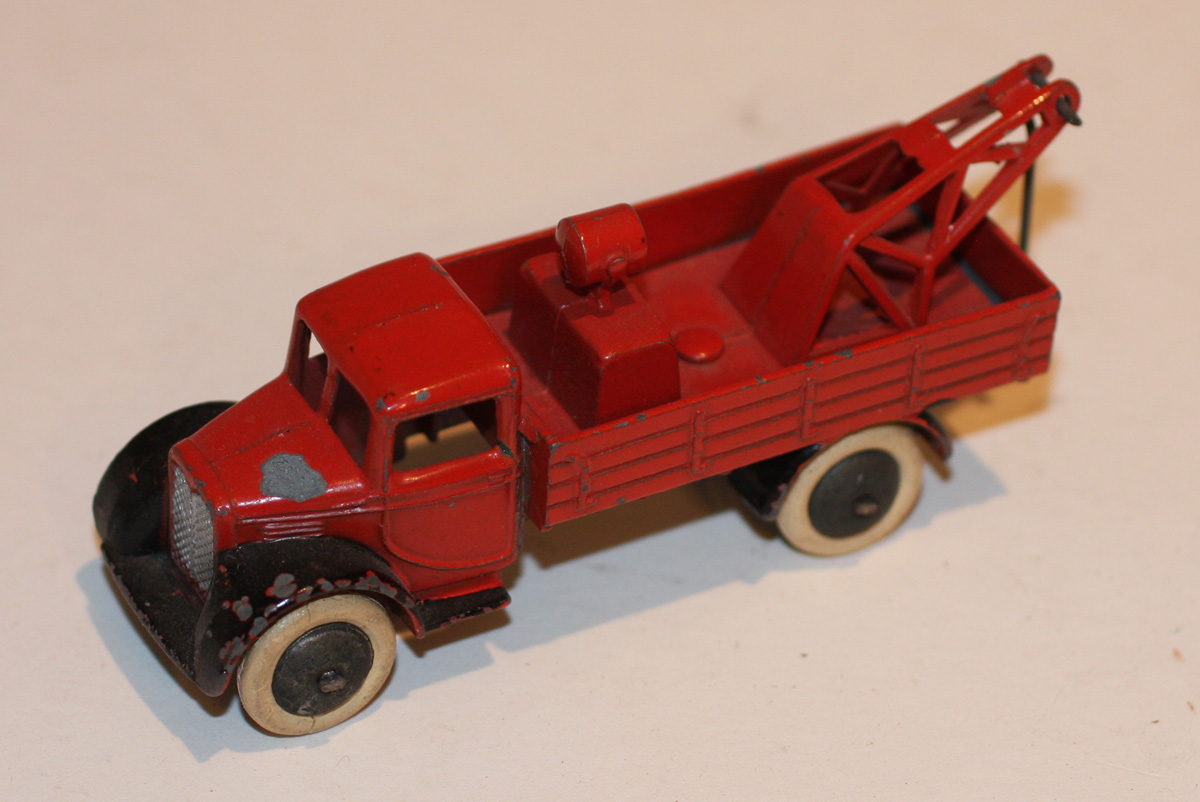 very rare dinky toys pre war 30e wrecker breakdown in red ebay. Black Bedroom Furniture Sets. Home Design Ideas